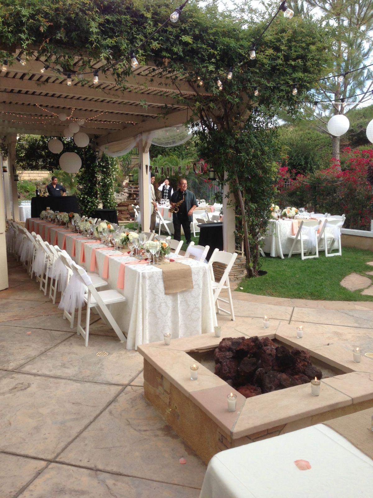 backyard wedding weddings pinterest wedding budget wedding