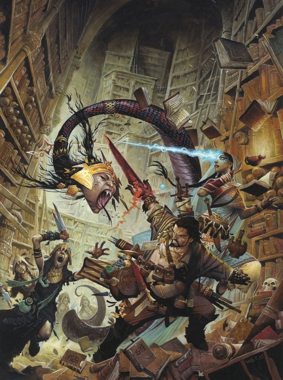 "Wayne Reynolds 2015: ""Occult Adventures"" © Paizo Inc."