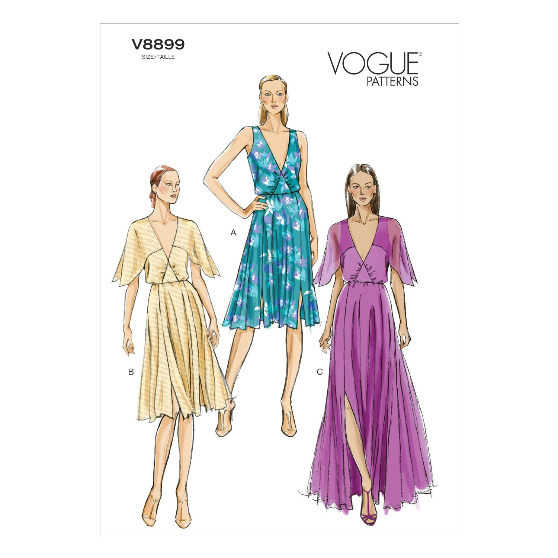 Mccall Pattern V8899 6-8-10-12--Vogue Pattern | Pinterest
