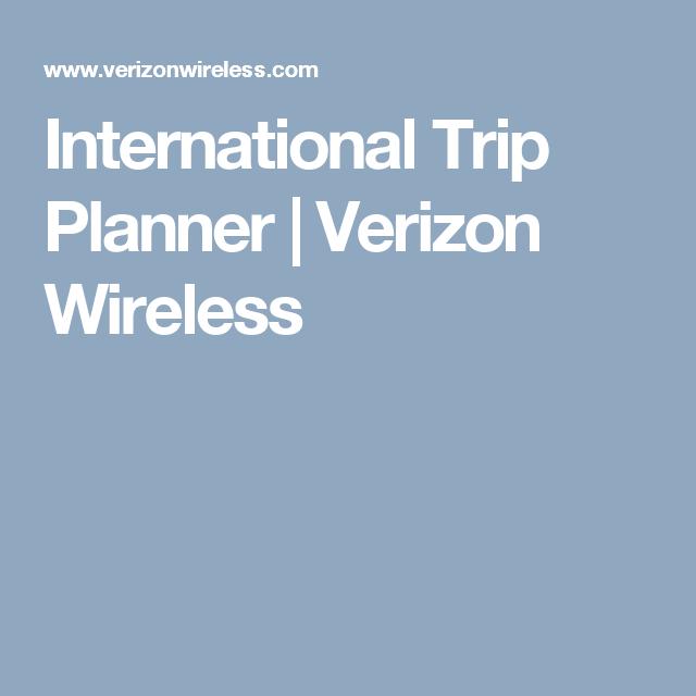 international trip planner verizon wireless austria pinterest