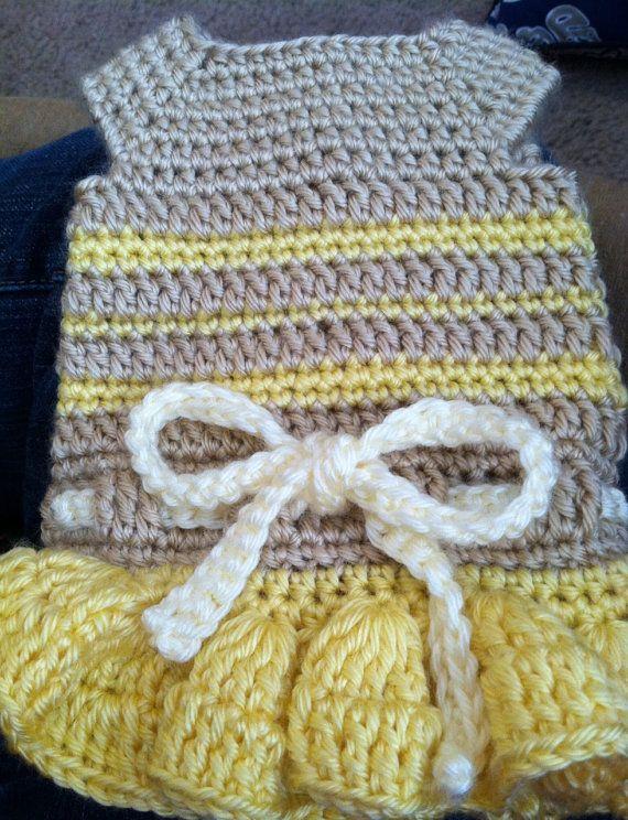 PDF Crochet Pattern Summer Fun Dog Dress INSTANT by CobosCloset ...