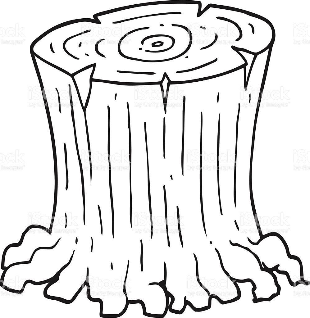 Coloring Pages Of Tree Stumps Printable Coloring Pages Tree Stump Print Buttons