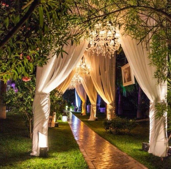 Garden Weddings And Floral Ideas