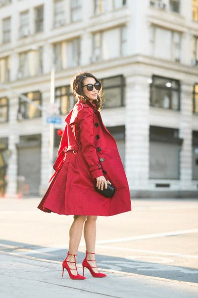 Outfit Ideas for Statement Coats   Crimson Trench