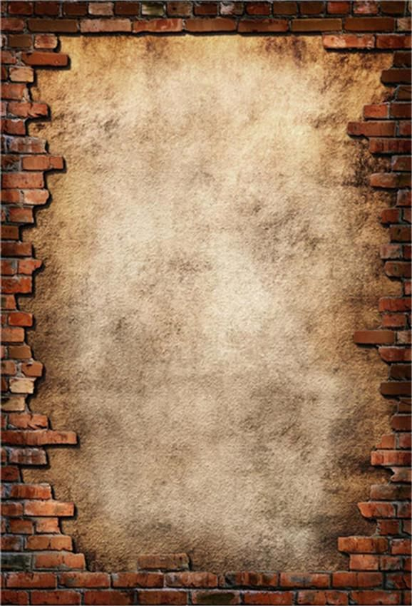 Abstract Red Brick Photography Fabric Backdrop for Studio