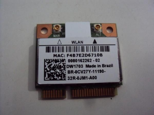 Placa Wireless - Dw 1703 - Dell
