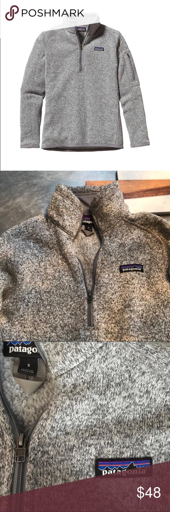 Patagonia half zip Gray, size small, good condition Patagonia Jackets & Coats