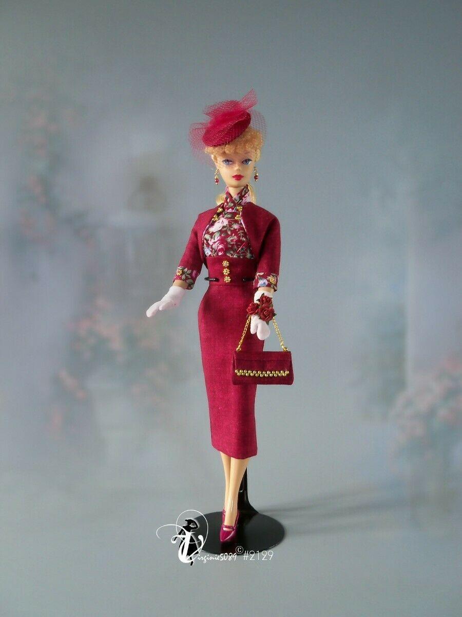 Doll Outfit Tenue Complete Barbie Silkstone Vintage Integrity Toys 2129 Ebay Doll Clothes Barbie Vintage Barbie Dolls Fashion Dolls
