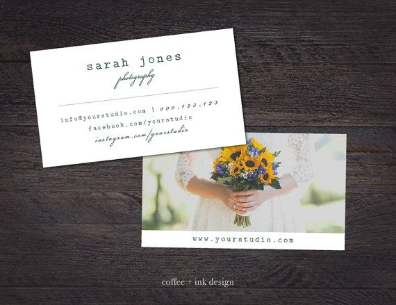 Wedding photography business card template von coffeeandinkdesign wedding photography business card template von coffeeandinkdesign reheart Image collections