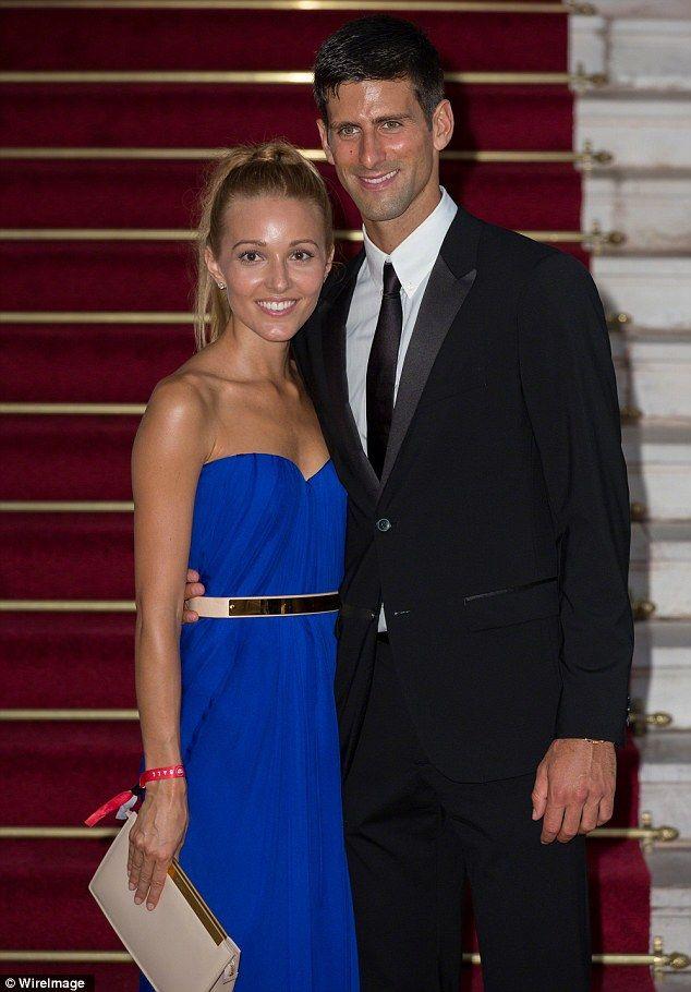 Novak Djokovic And Wife Jelena Ristic Welcome Son Stefan Novak Djokovic Strapless Dress Formal Celebs