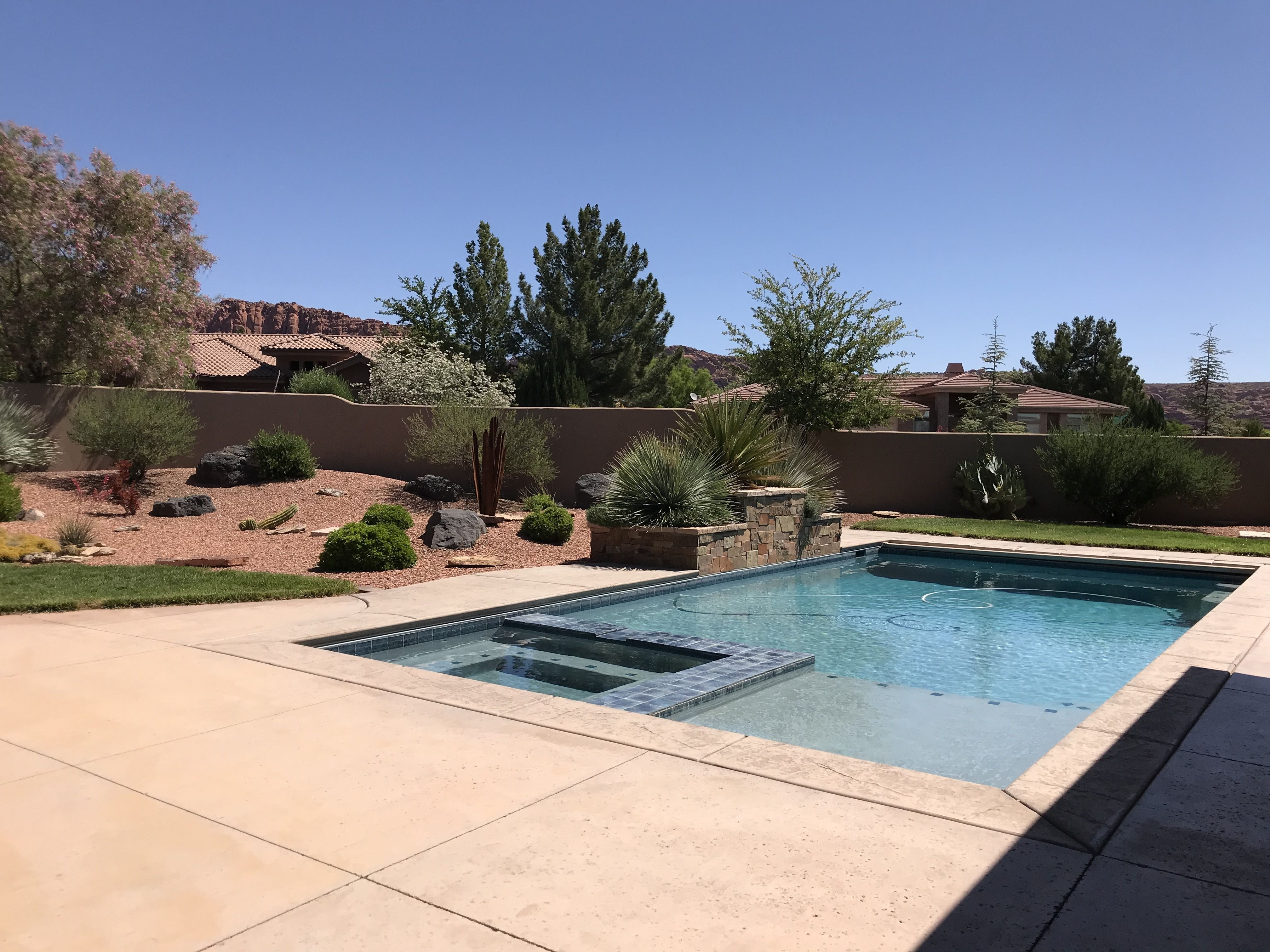 Homes For Sale With Pools Around St George Ut Pool St George Home