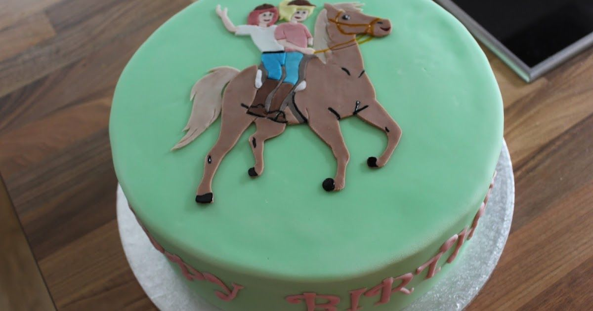 Bibi Und Tina Bibi Und Tina Torte Pferde Kuchen Kuchen Ideen