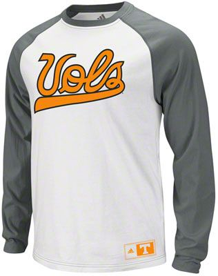 Tennessee Volunteers adidas Home Field Advantage Long Sleeve Raglan Crew Shirt  				      			      				  					  					  						  							  						  						  							$35
