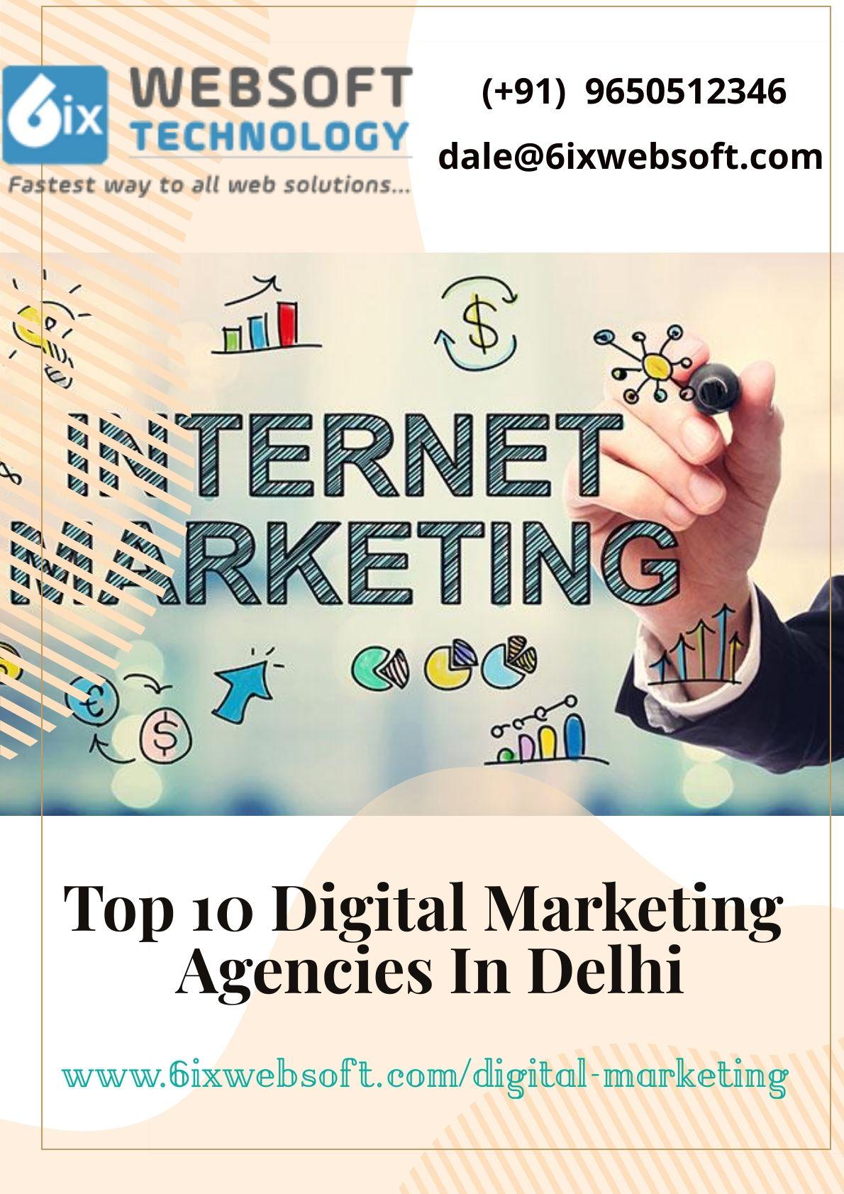 Top 10 Digital Marketing Agencies In Delhi Digital Marketing Agency Online Marketing Agency Digital Marketing