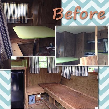 Daughter S A Camper And Gives It Makeover For 500 Look At How Incredible Is Now