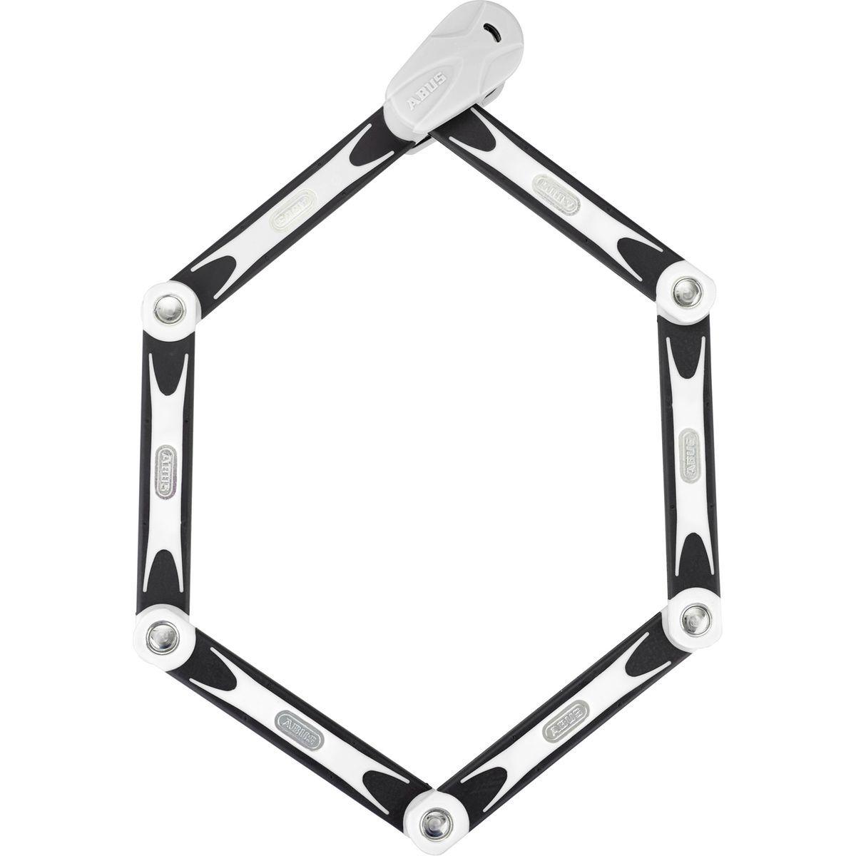 Blanc 90 cm ABUS Bordo Combo 6100//90 Cadenas