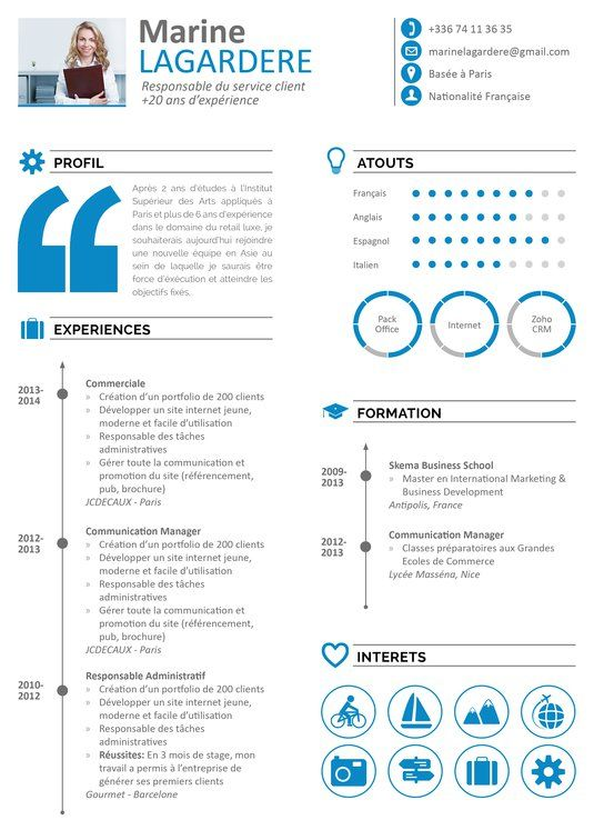 My CV Factory u2026 u2026 Pinteresu2026 - resume creation