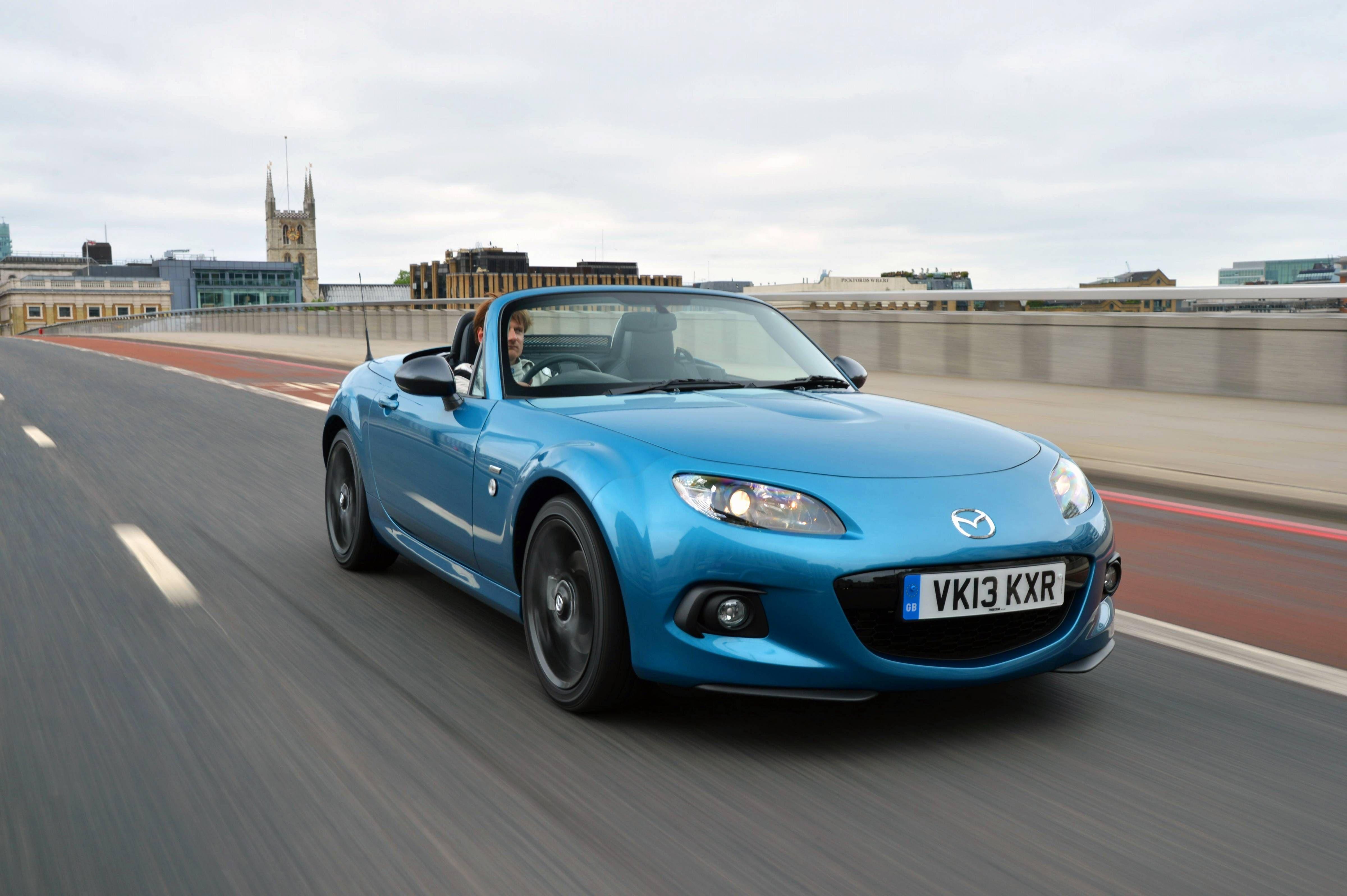 2013 Mazda MX-5 Sport Graphite - UK version   Blue Skies   Pinterest ...