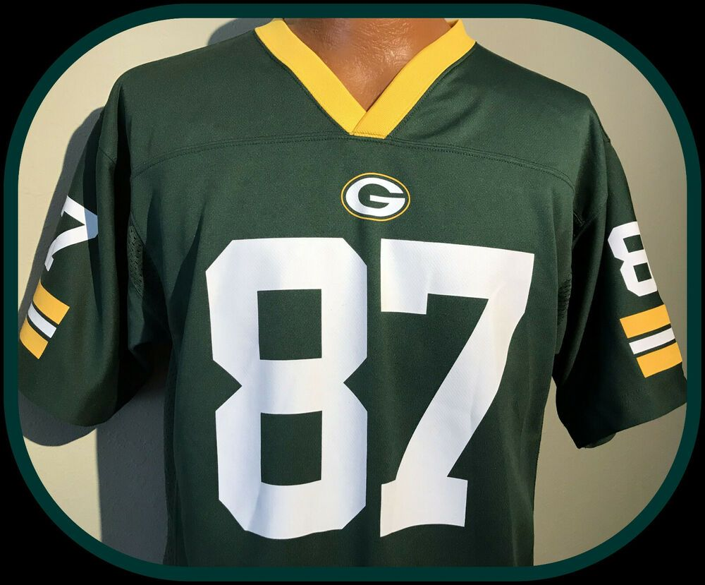 Jordy Nelson Green Bay Packers Team Apparel Replica Jersey Youth Xlarge Nwot Nike Greenbaypackers In 2020 Green Bay Packers Team Packers Team Jordy Nelson