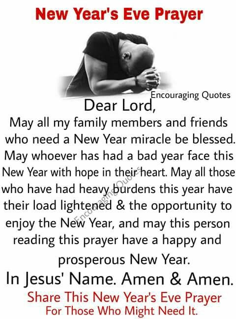 New Year\'s Prayer | Prayer | Pinterest | Spiritual, Prayer warrior ...