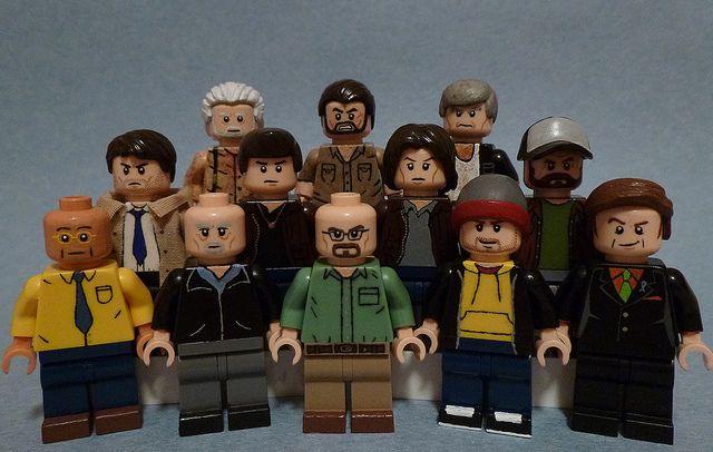 2PCS Breaking Bad Walter White /&Jesse Pinkman Mini Figure Toy