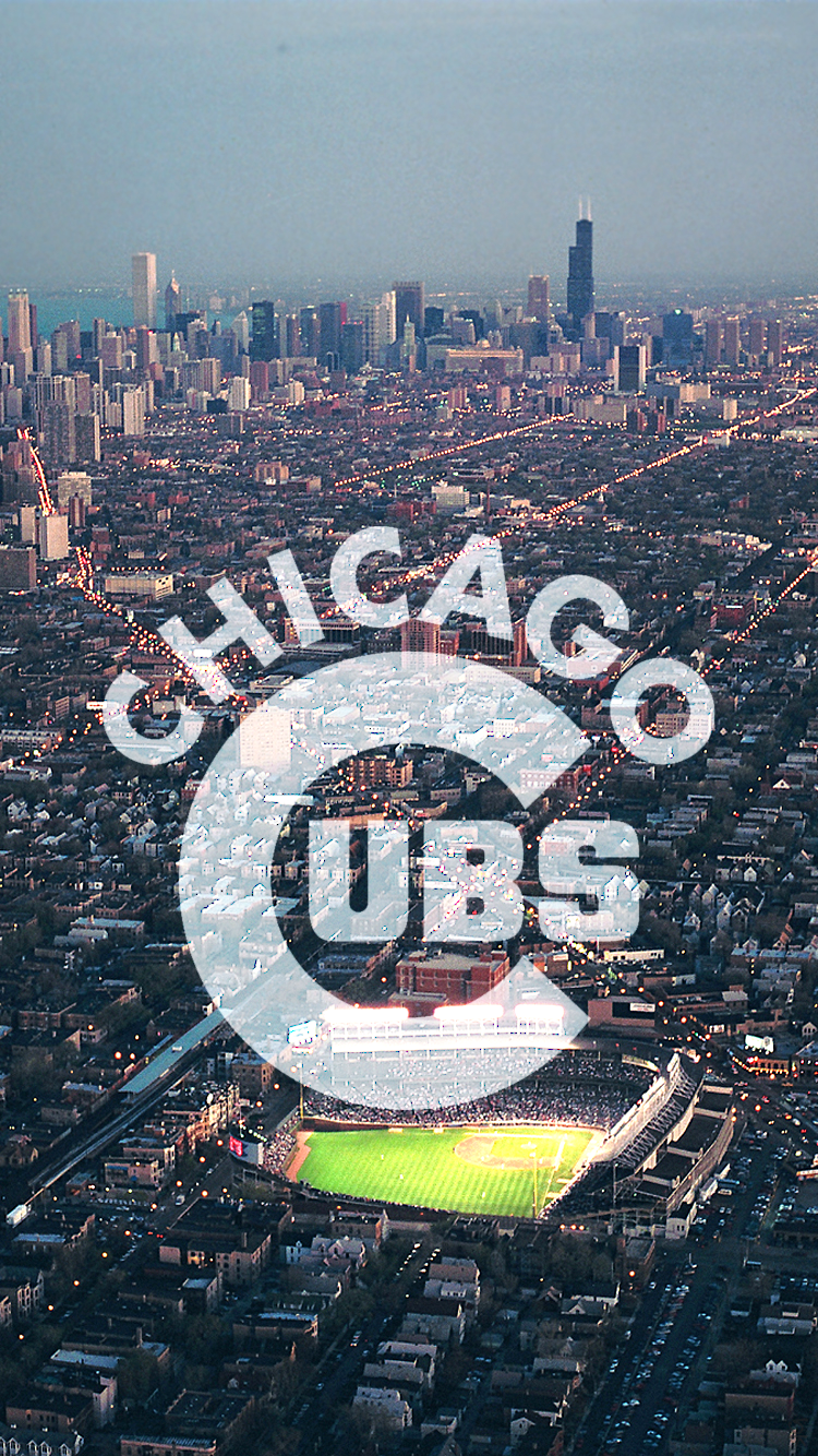Chicago Wallpaper 4k Iphone Trick In 2020 Chicago Cubs Wallpaper Cubs Wallpaper Chicago Cubs World Series