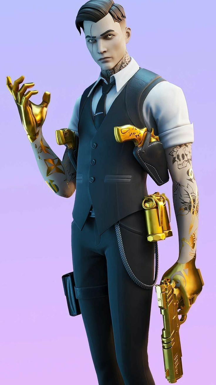 golden weapon skin Fortinite