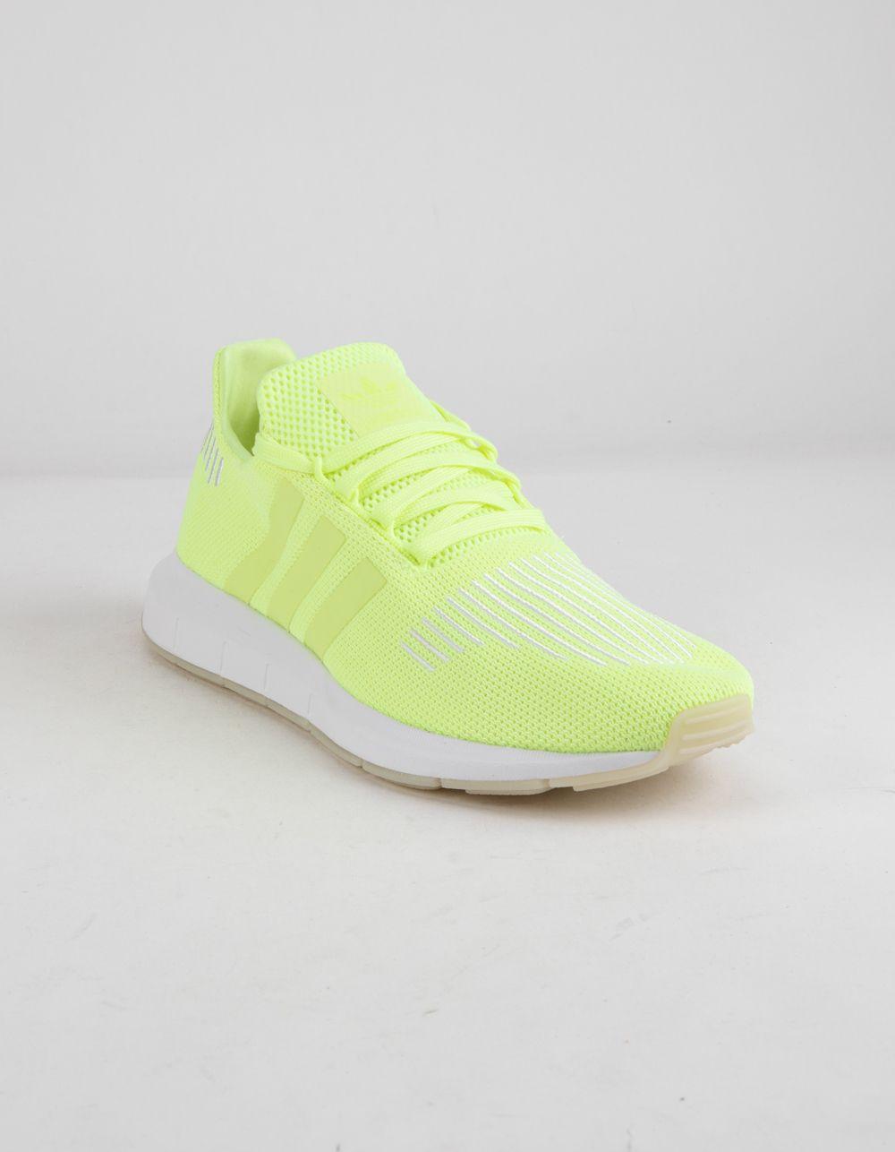 ADIDAS Swift Run Hi-Res Yellow Shoes - YELLO - 343911600   Yellow ...
