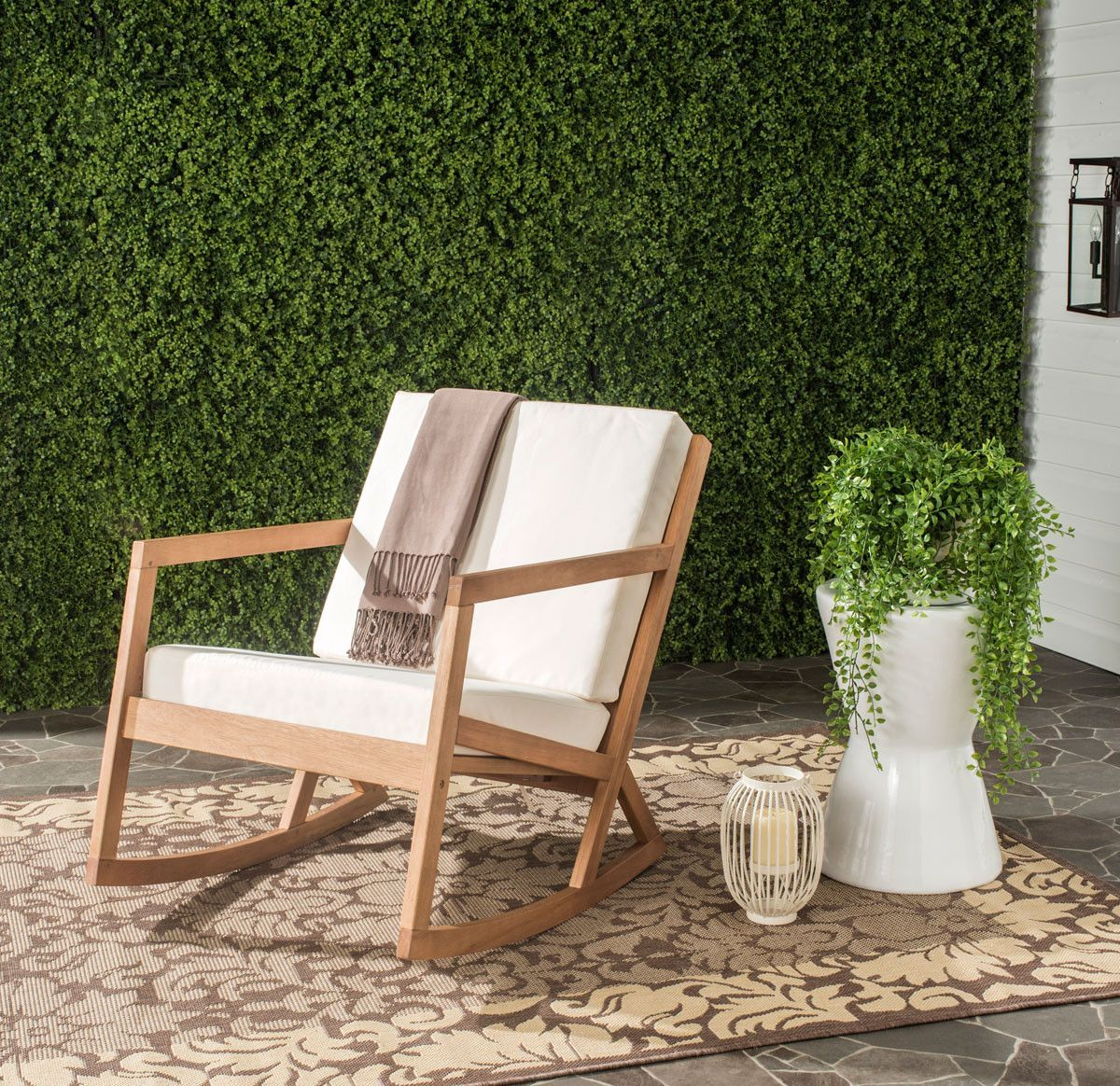 Vernon Outdoor Rocking Chair Outdoors Outdoor Rocking Chairs Patio Rocking Chairs Modern Outdoor Chairs