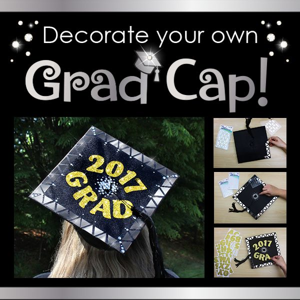 Decorate Your Graduation Cap Using ArtSkills Products