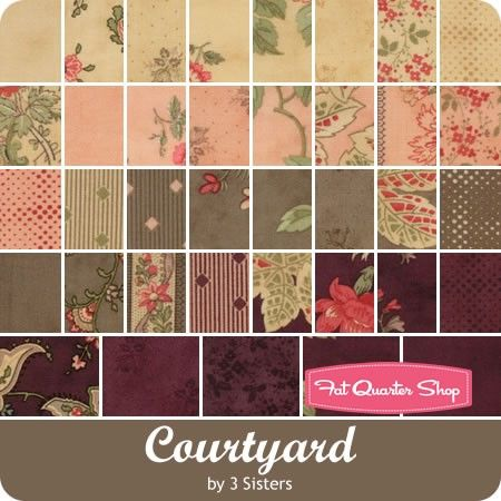 Courtyard Yardage <br/>3 Sisters for Moda Fabrics | Beautiful ... : three sisters quilt shop - Adamdwight.com