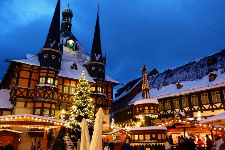 harz weihnachtsmarkt in wernigerode deutschland. Black Bedroom Furniture Sets. Home Design Ideas