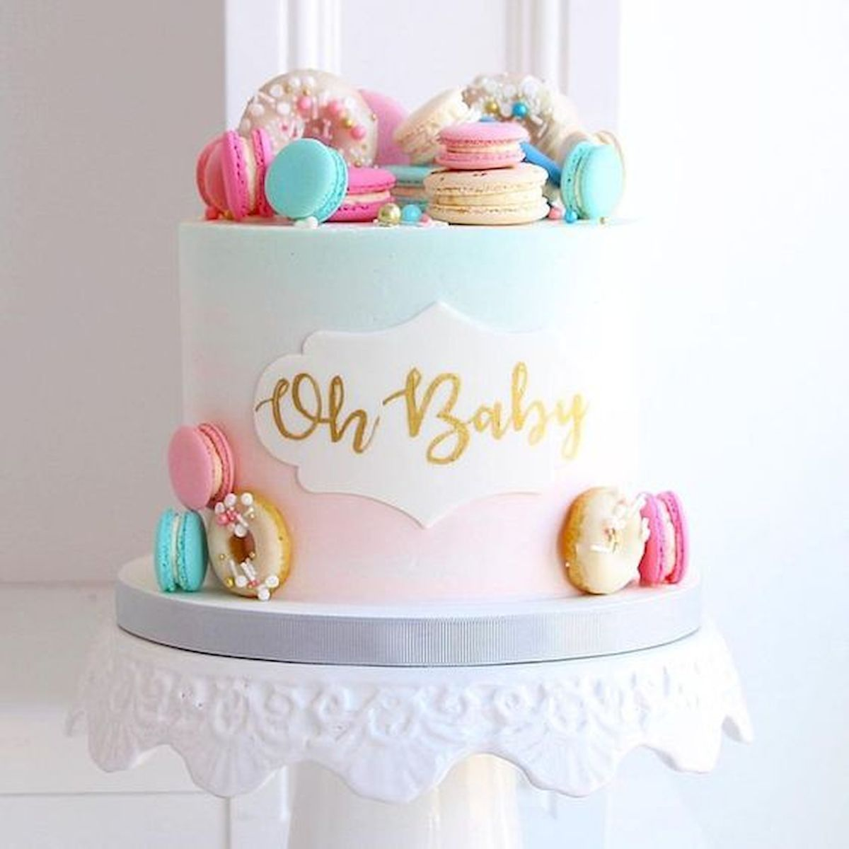 25 Nice Baby Shower Cakes Ideas That S Too Cute To Eat Baby