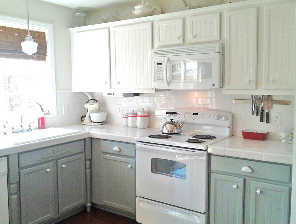 Grey kitchen cabinets with white appliances home design for Kitchen ideas with grey cabinets