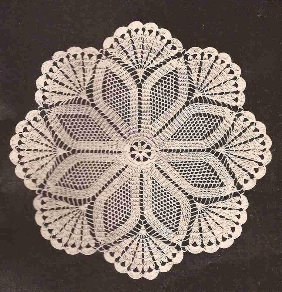Centro de mesa estrella a crochet o ganchillo crochet for Centros de mesa de ganchillo