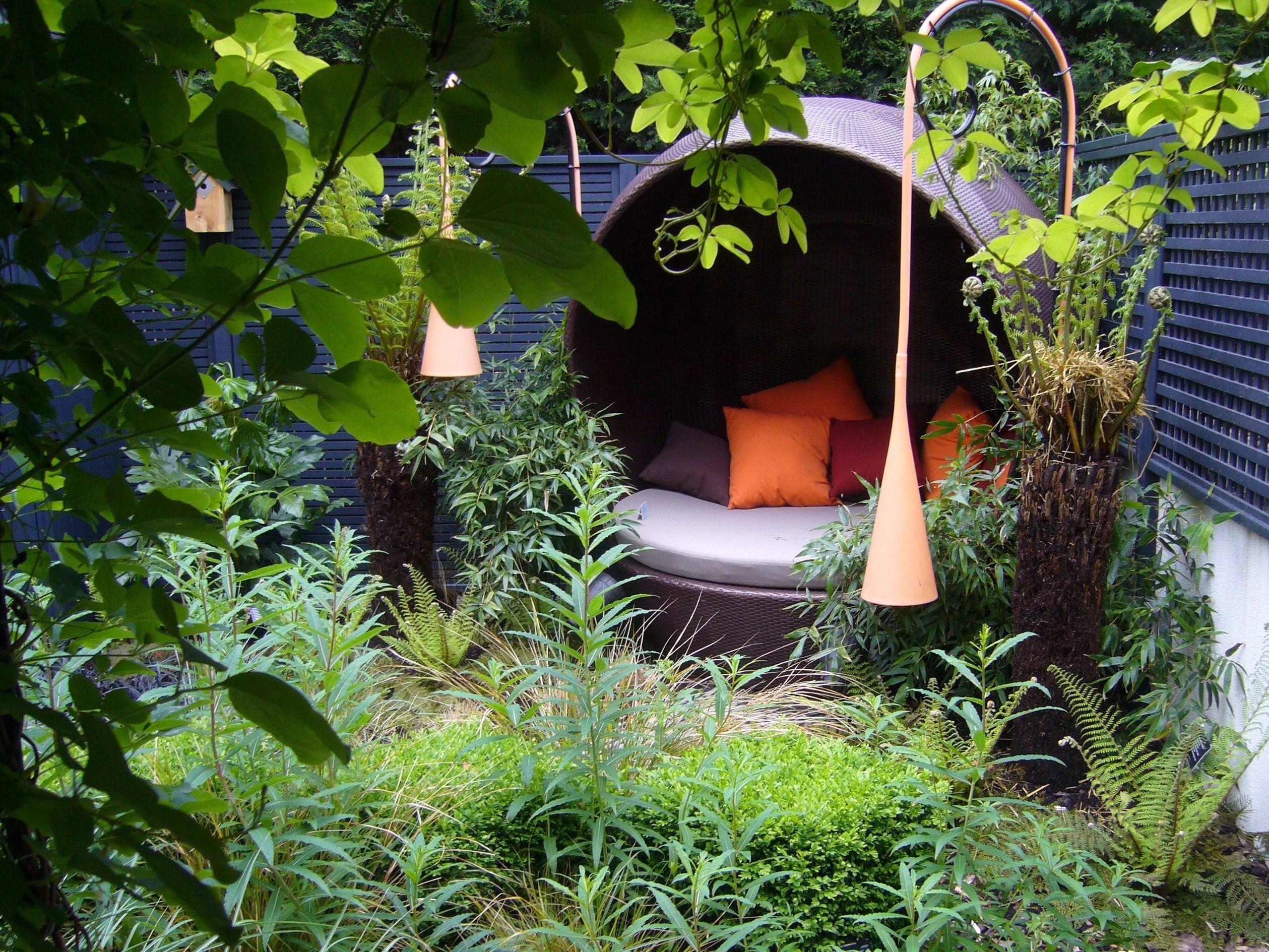 this contemporary victorian garden based in es won aralia