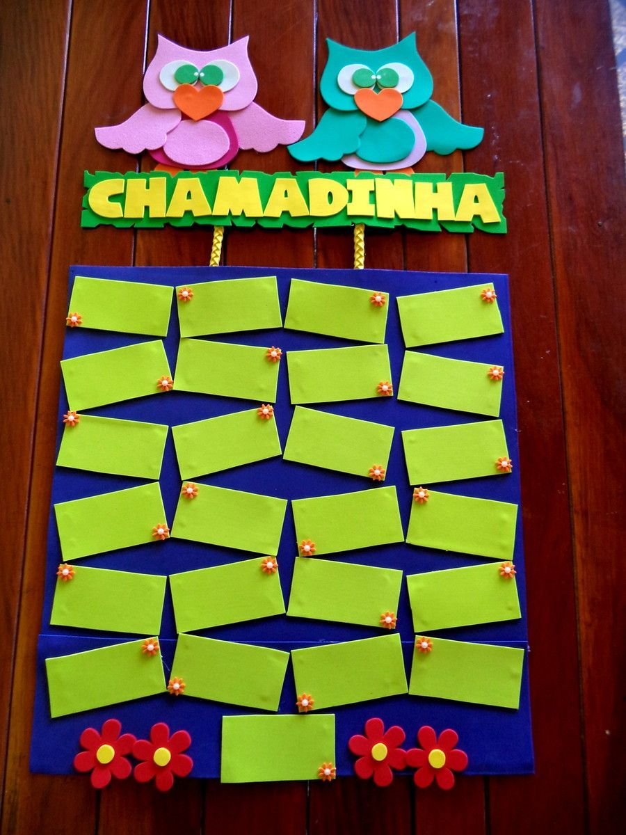 Kit De Paineis Para Educacao Infantil Acompanha 01 Chamadinha
