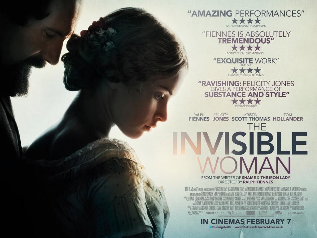 The Invisible Woman 2013 If More Women Were Invisible Life Would Be Much Less Complicated Invisible Woman Woman Movie Ralph Fiennes