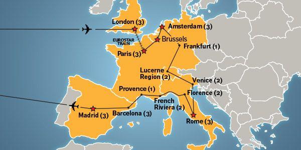 grand tour of europe - 30 day european tour   ef college break i