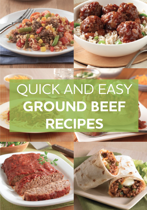 Photo of Ground Beef Recipes
