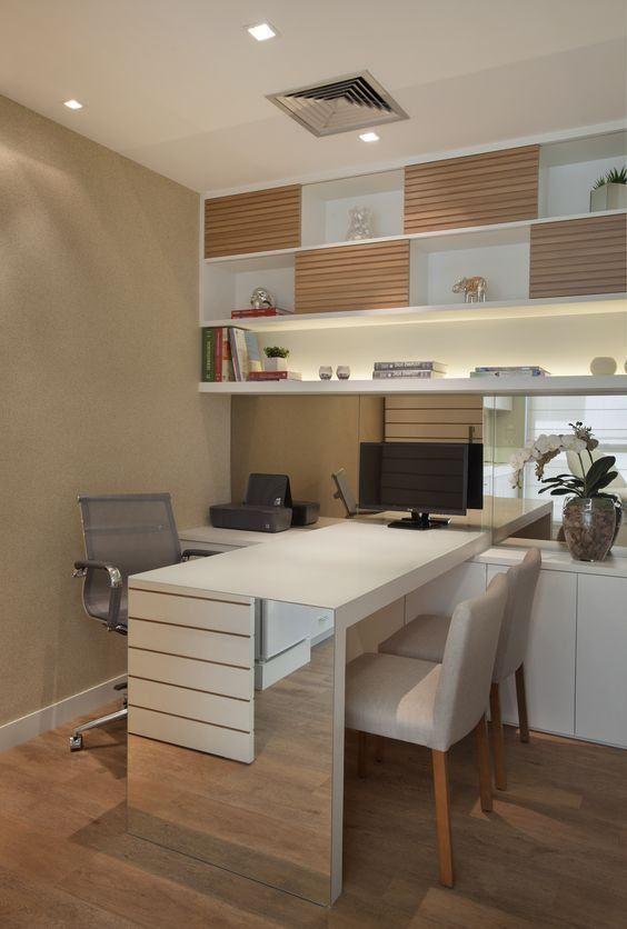 Imagem 23 decoraci n de interiores pinterest buero b ros y einrichtung - Minimalistische einrichtungsideen ...