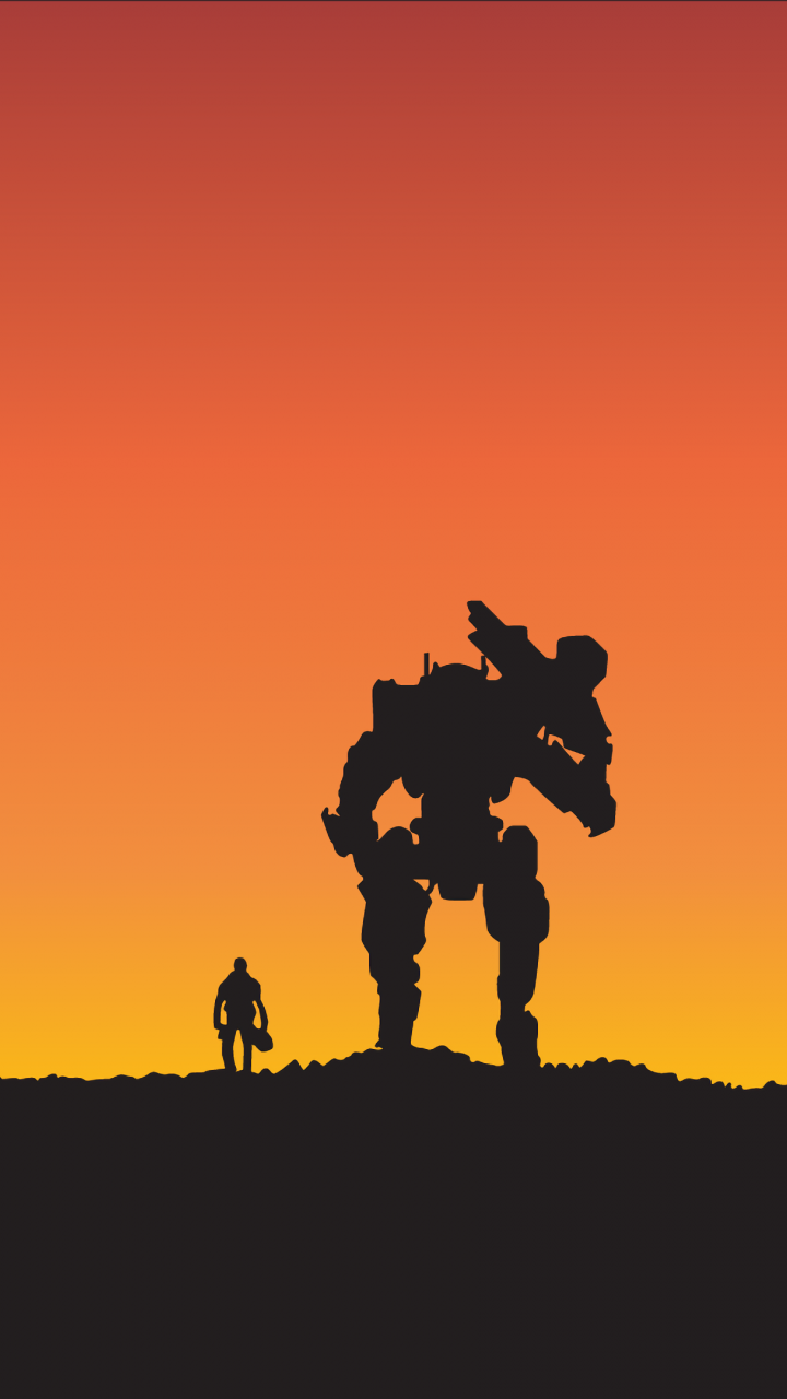 Titanfall 2: Become One, video game, minimal, robot ...