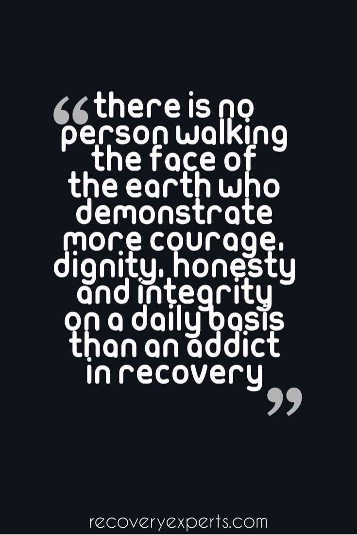 Quotes About Addiction An Addict In Recovery Is The True Herdailyfight Addiction