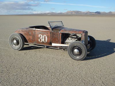 1930 Ford Model A Roadster Traditional Flathead Hot Rod Model A
