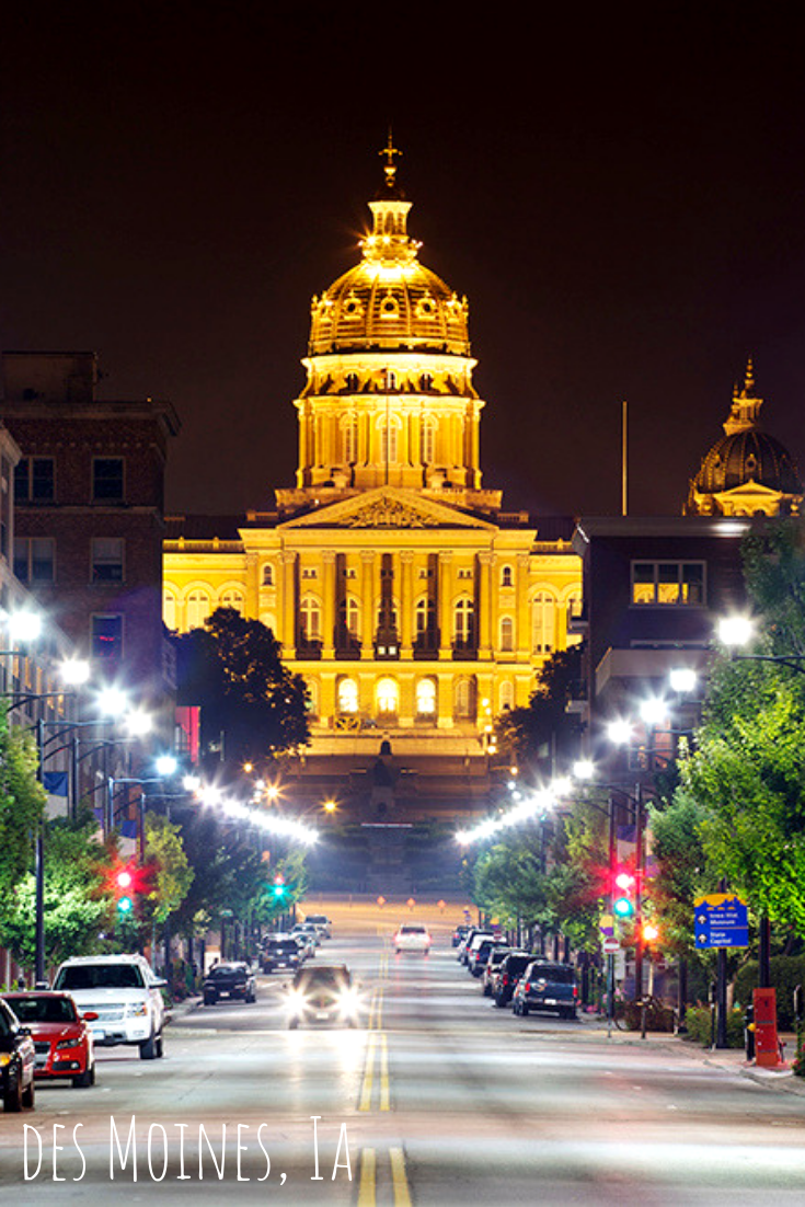 Des Moines Iowa Iowa Des Moines Presidential Primaries