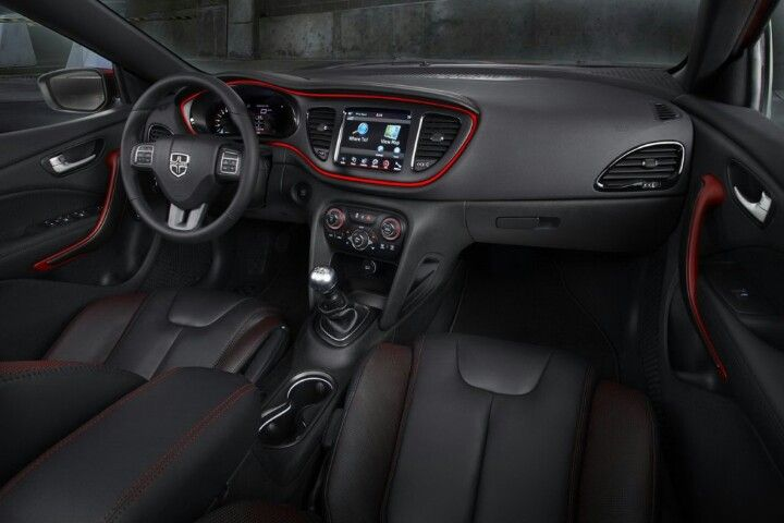 Interior Of Dodge Dart Limited Dodge Dart 2013 Dodge Dart