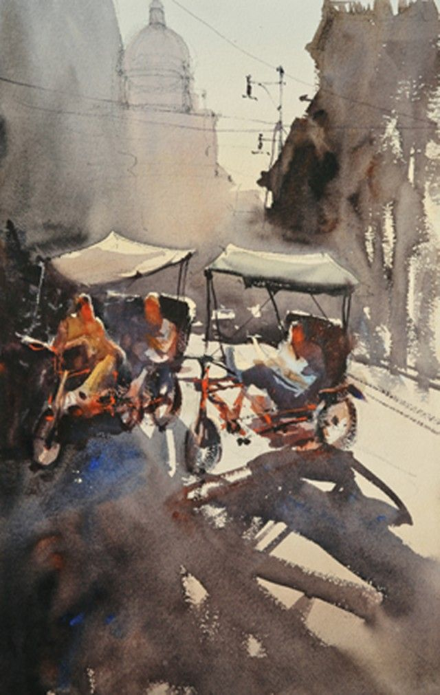 Alvaro Castagnet Cuba Watercolor Art Watercolor Artists