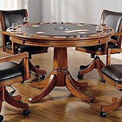Hillsdale Furniture 4186gtb Park View 52 Round Game Table With