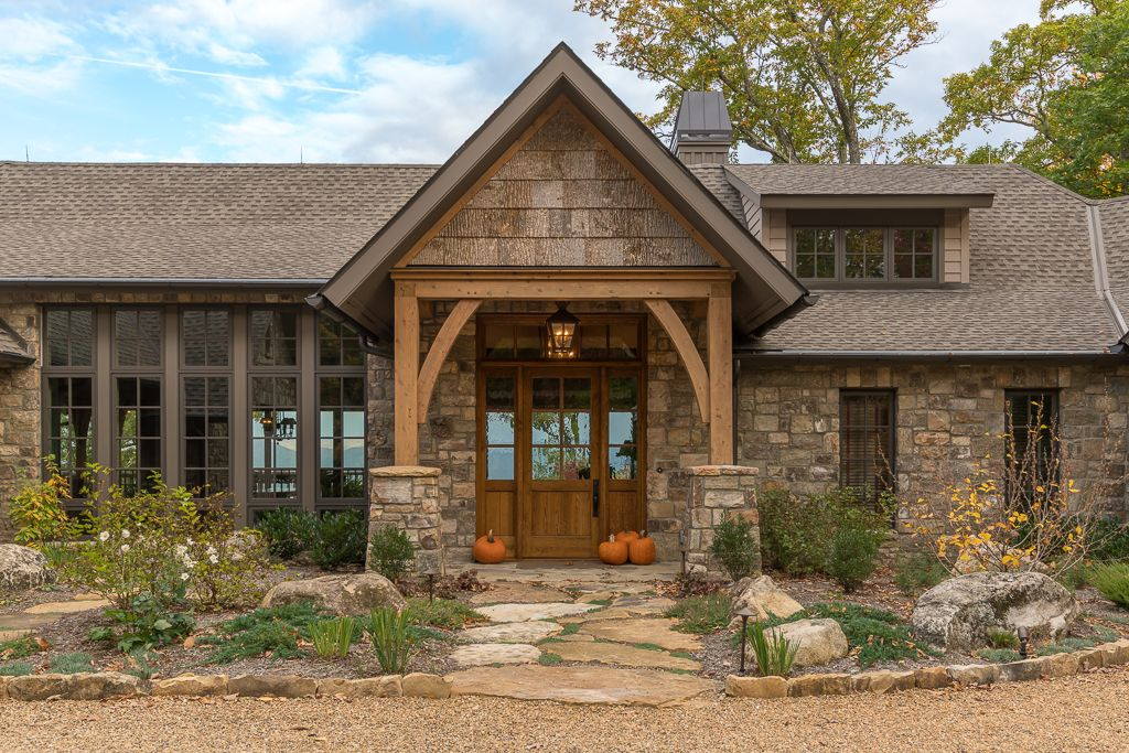 High Country Stone Lodge Platt Architecture Pa Lodge Style House Plans Stone House Plans Stone Exterior Houses