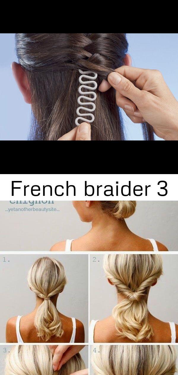 French Braider 3 Hair Styles Hair Wrap Beauty